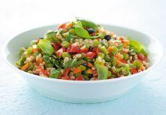 Insalata d'orzo con fagiolini e carote al basilico - Tutte le ricette dalla A alla Z - Cucina Naturale - Ricette, Menu, Diete