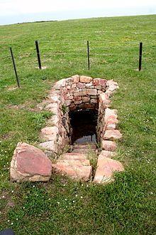 Campa Torres - Pozo de agua de manantial que surtía de agua al poblado.