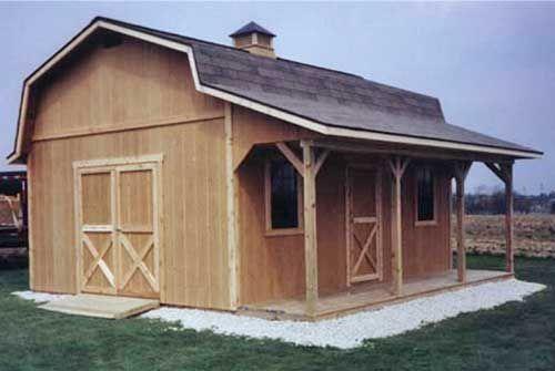Storage buildings - sheds building plans