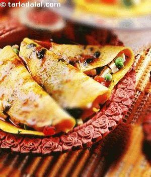 Stuffed Chilas recipe | Indian Chaat Recipes | by Tarla Dalal | Tarladalal.com | #2837