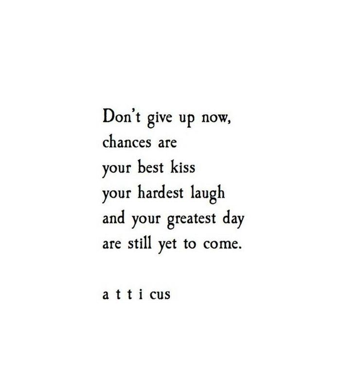 Atticus - I needed this tonight