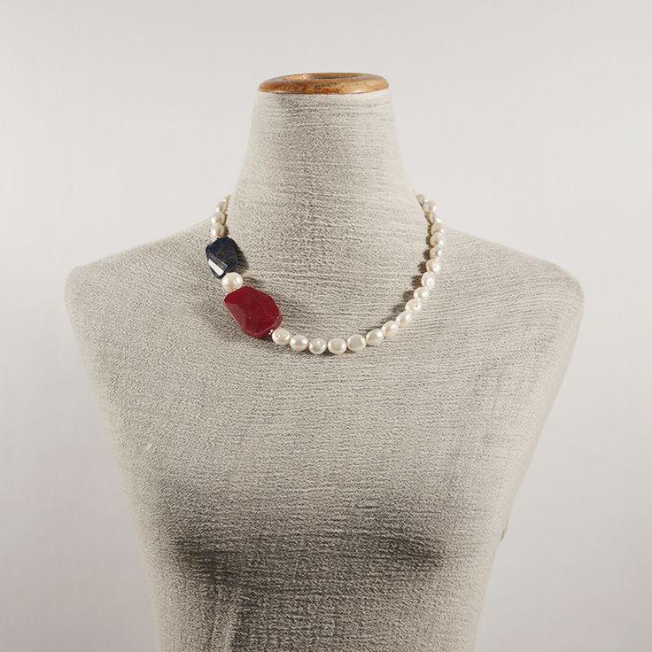 Collana elegante in perle, nuova collezione kokomamas.it