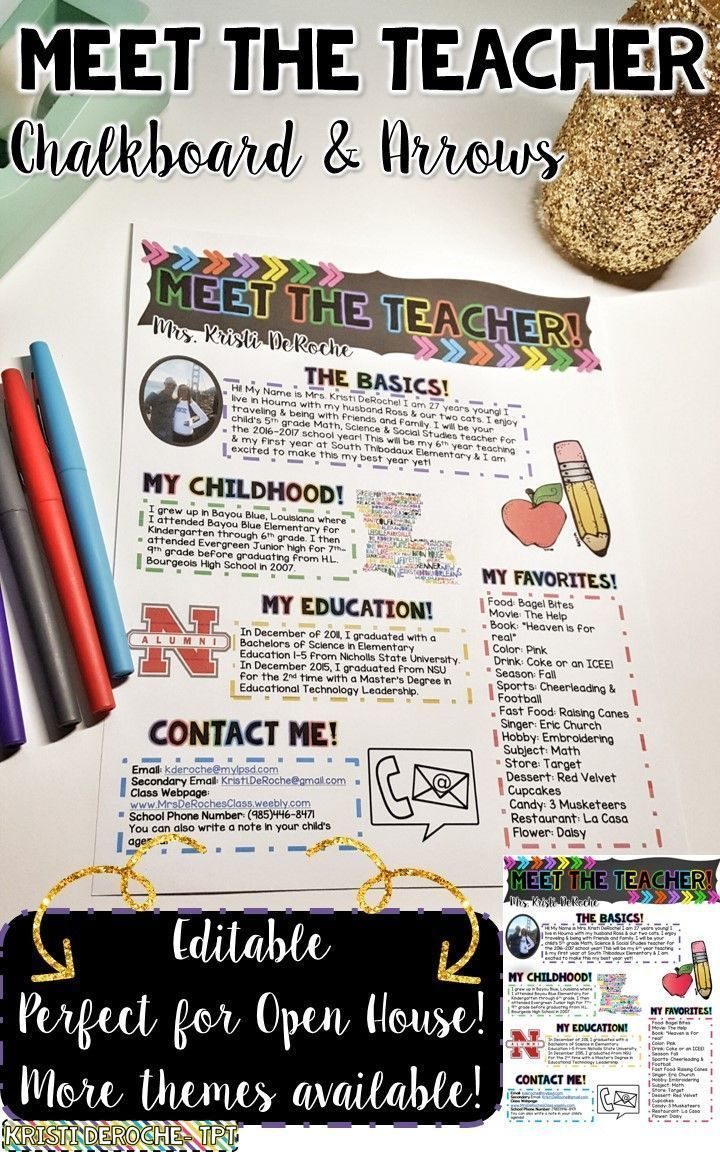 Best 25 teacher newsletter ideas on pinterest class newsletter school newsletters and weekly for Meet the teacher newsletter