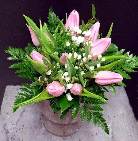kotimainen tulppaani, kukkakauppa Kukkahuone Meritorni, Kotka