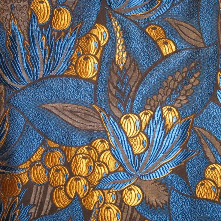 Mounted art deco fabric panel frances o 39 connor quilt for Art deco fabric