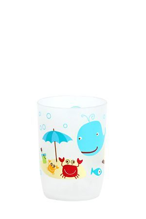 """Bring a touch of the sea into the Bathroom with this plastic tumbler. It can be used to hold your toothbrush and toothpaste. Also available in a bin and bath mat to finish the coordinated look.<div class=""""pdpDescContent""""><BR /><b class=""""pdpDesc"""">Dimensions:</b><BR />L7xH9.8 cm</div>"""