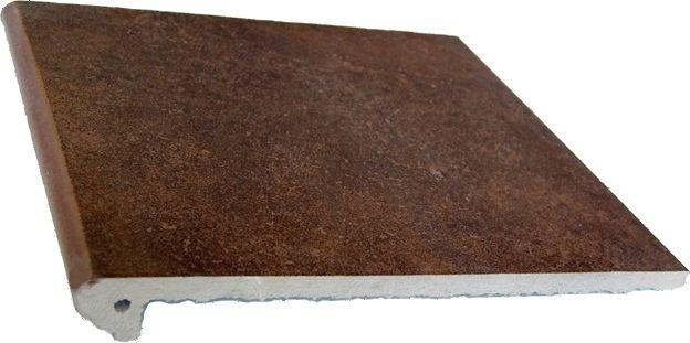 SERIA: MYTHO - GRES ARAGON Rubino stopnica 33x33 cm
