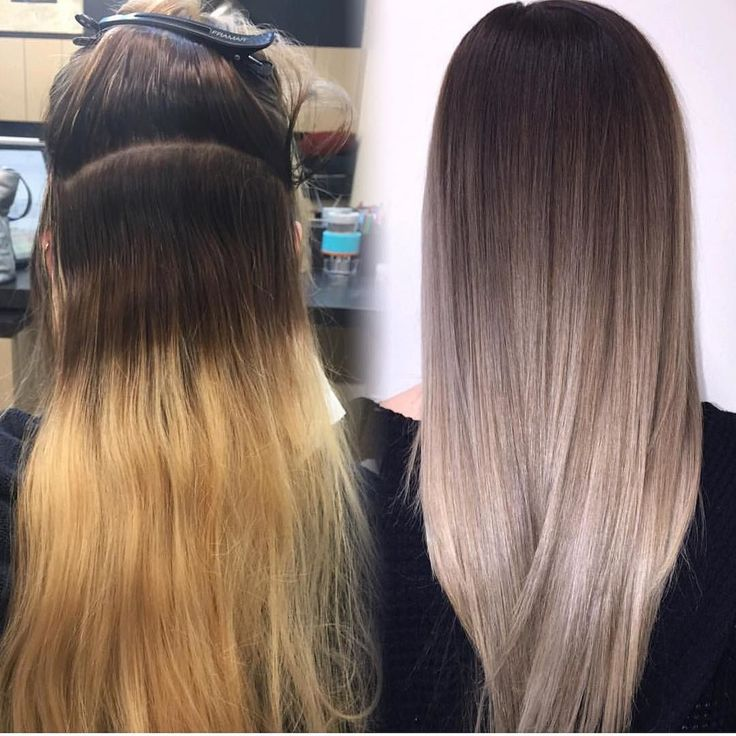 @lisalovesbalayage by stylistshopconnect. Ombré hair transformation