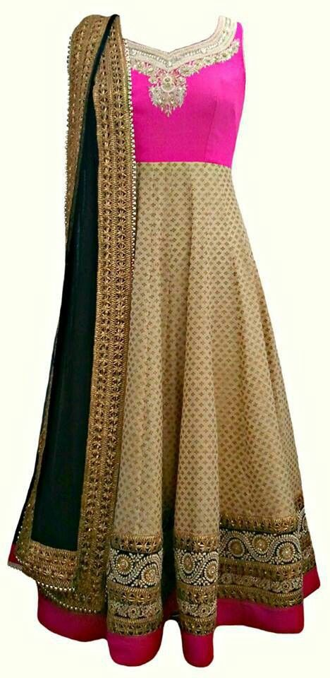 Lehenga gold zari zardozi indian weddings bride bridal wear www.weddingstoryz.com details Anarkali Design