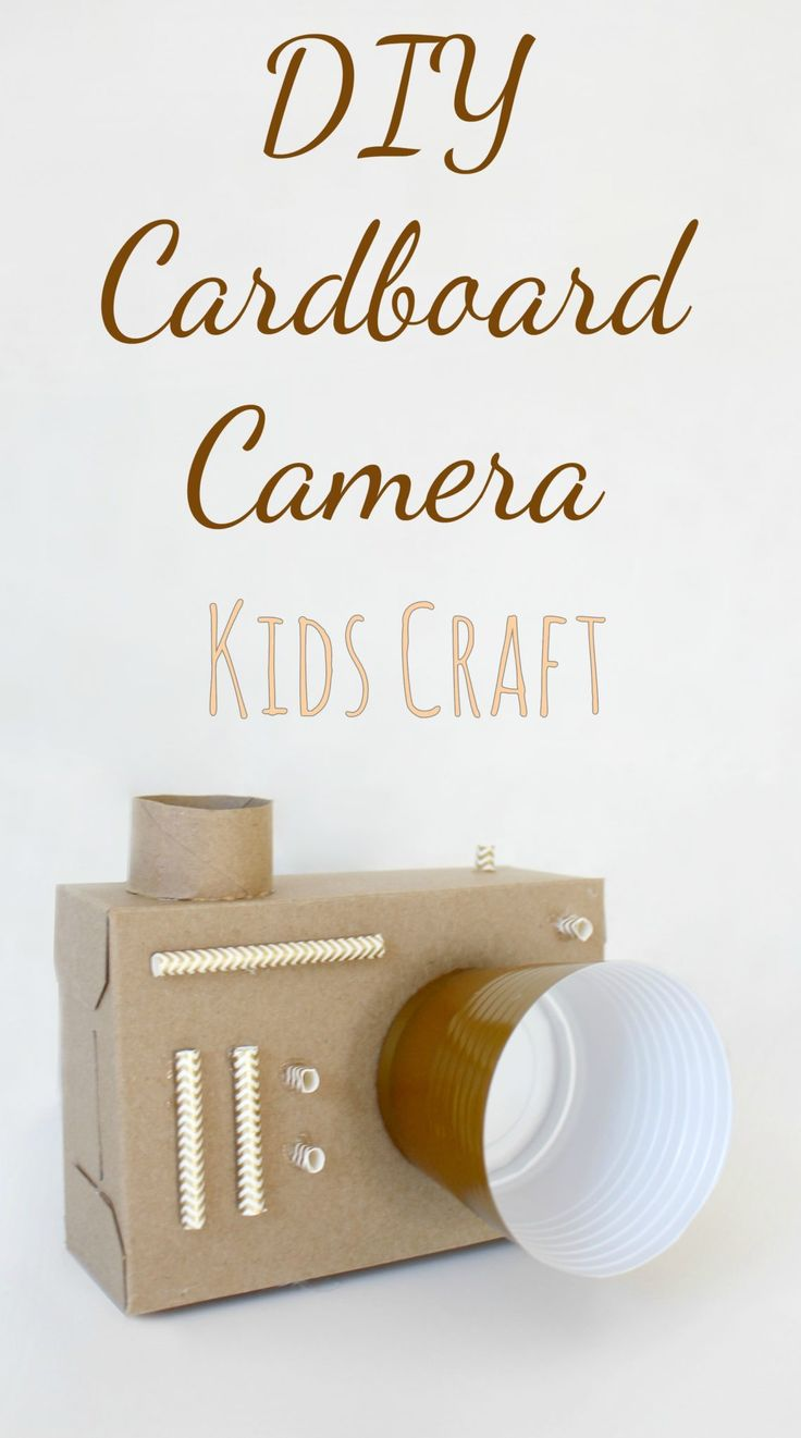 82 best education images on pinterest behavior education and gym diy cardboard camera easy upcycled craft for kids fandeluxe Gallery