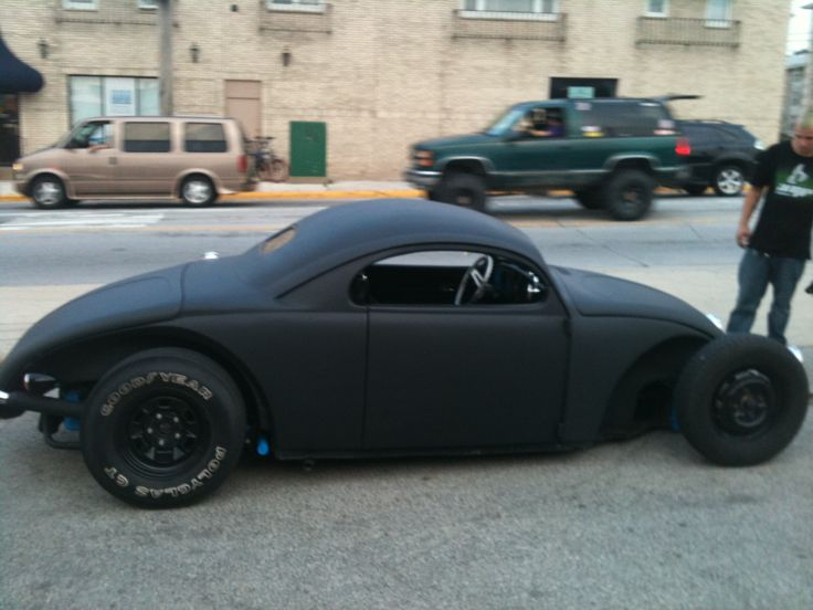 hotrod Bettle vw. This is interesting Stretched  pan Radical chopped body looks like fun to me!!