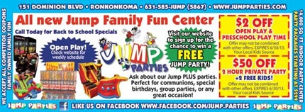 Jump Partiees - Indoor Parties, Inflatables, Party Activities - Ronkonkoma, Long Island, New York, NY