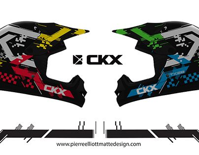 "Check out new work on my @Behance portfolio: ""CKX Helmet Graphics"" http://be.net/gallery/49732157/CKX-Helmet-Graphics"