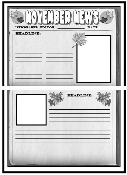The 25+ best English e newspaper ideas on Pinterest Newspaper - newspaper templates for kids