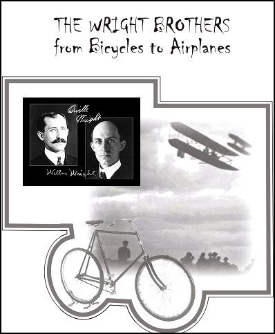 Wright Brothers: Bicycles to Airplanes (For 6th-12th grades) December 17th is Wright Brothers Day! Here a perfect unit for your middle/high school students! Download Club members can download this 85 page unit @ http://www.christianhomeschoolhub.com/pt/People-Studies-Wright-Brothers/wiki.htm