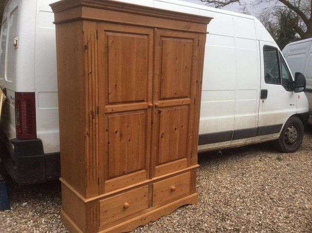 Pine wardrobe For Sale in Boston, Lincolnshire | Preloved