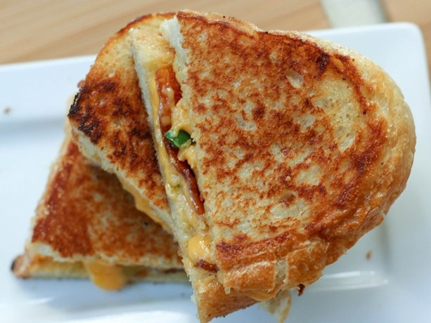 Grilled Cheese, Bacon and Jalapeño Sandwiches