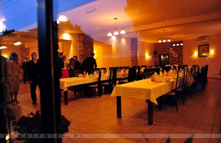 Sala weselna  Fotografia ślubna Wrocław, Anna Tyniec.  https://www.facebook.com/AnnaTyniecFotografie