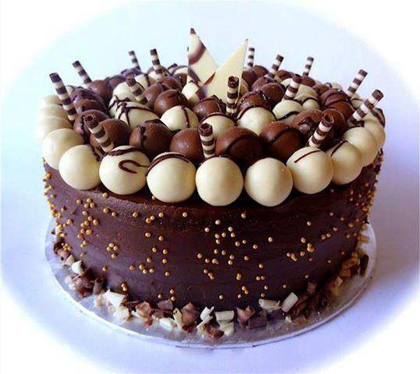 Как украсить торт шоколадом в домашних условиях: различные ...
