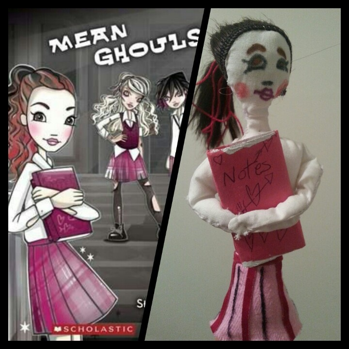Megan (Book Report Main Character Puppet) -   by Kayla. B