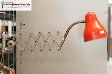 Rode Hala schaarlamp Busquet! #kringloop #thrift