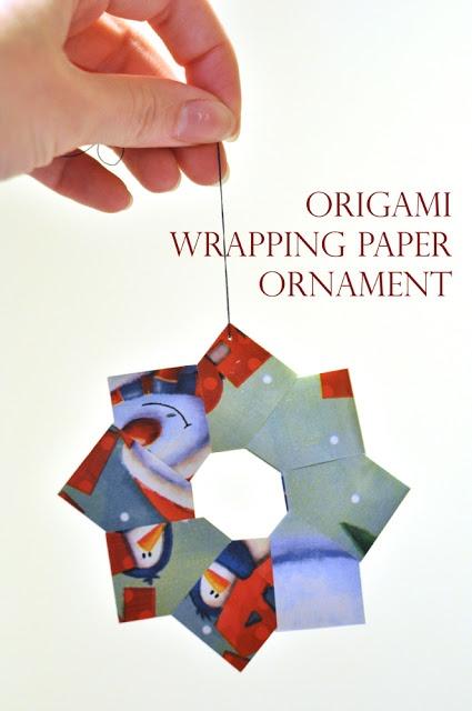 Darkroom e Dearly: {2 ° giorno di Natale: ornamenti origami}