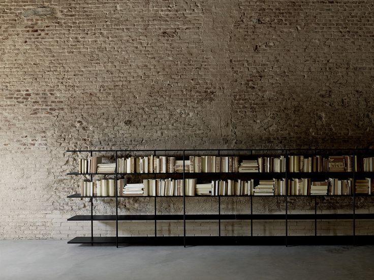 LIVING DIVANI: Aero bookshelf design Shibuleru ... http://www.davincilifestyle.com/living-divani-aero-bookshelf-design-shibuleru-2/ Aero bookshelf design Shibuleru [ACCESS LIVING DIVANI BRAND INFORMATION AND CATALOGUES] #LIVINGDIVANI LIVINGDIVANI Da Vinci Lifestyle