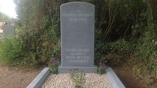 EXCLUSIVE: Seamus Heaney's gravestone epitaph is revealed - IrishCentral.com