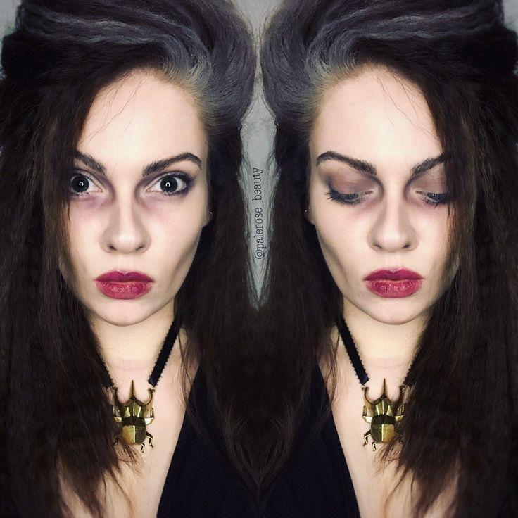 Bellatrix Lestrange halloween makeup. Harry Potter                                                                                                                                                                                 More