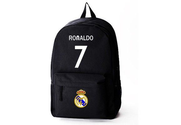 Real Madrid Cristiano Ronaldo 7 canvas schoolbag backpack