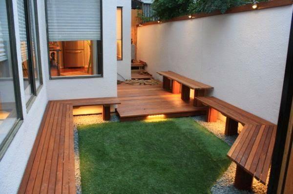 Patios y jardines decoracion de patios pequenos y for Decoracion de patios pequenos