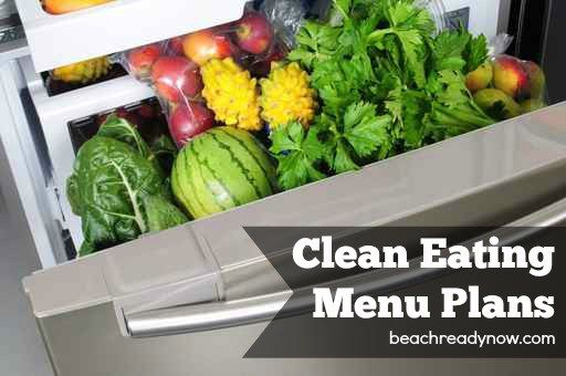 Clean Eating Menu Plans - A Month of Healthy, Delicious Meals