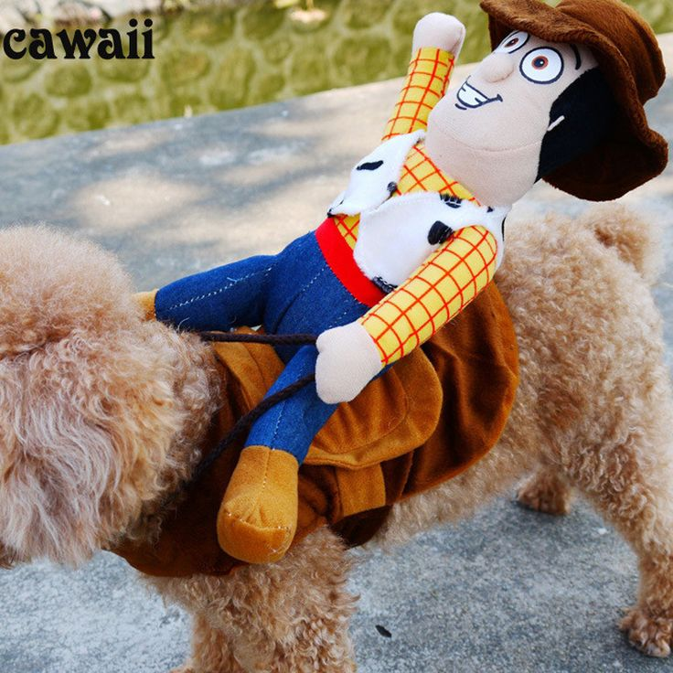 Novelty Funny Dog Costume Pet clothes Cowboy Dressing up Jacket for Small Medium Large Dogs Chihuahua Yorkshire Poodle XL