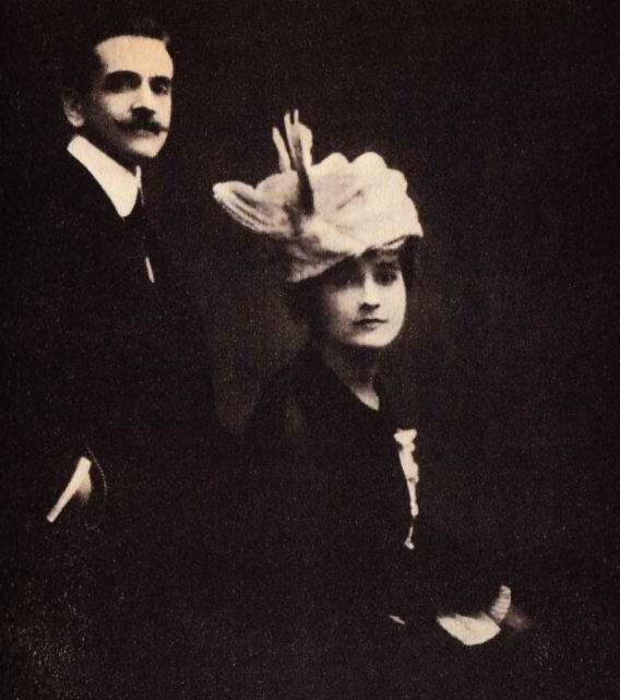 Raymond Roussel and Charlotte Dufrene