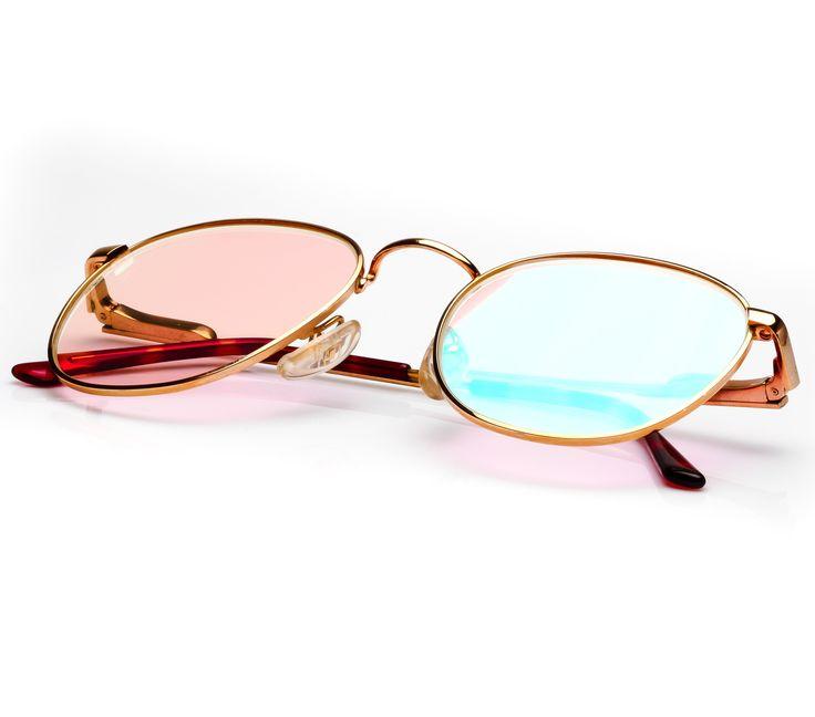 VF by Vintage Frames Bentley Miami Vice (Miami Vice Pink Multi Flash Flat Lens)