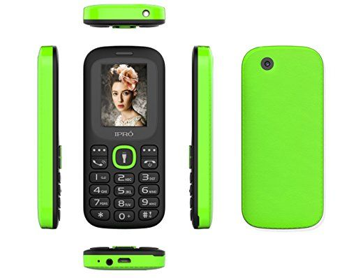 Original #IPRO I3185 Dual SIM Unlocked Mobile Phones GSM SC6531DA 1.77 Inch Bluetooth Cell Phone With English Portuguese Spainish Language Package list: (earphon...