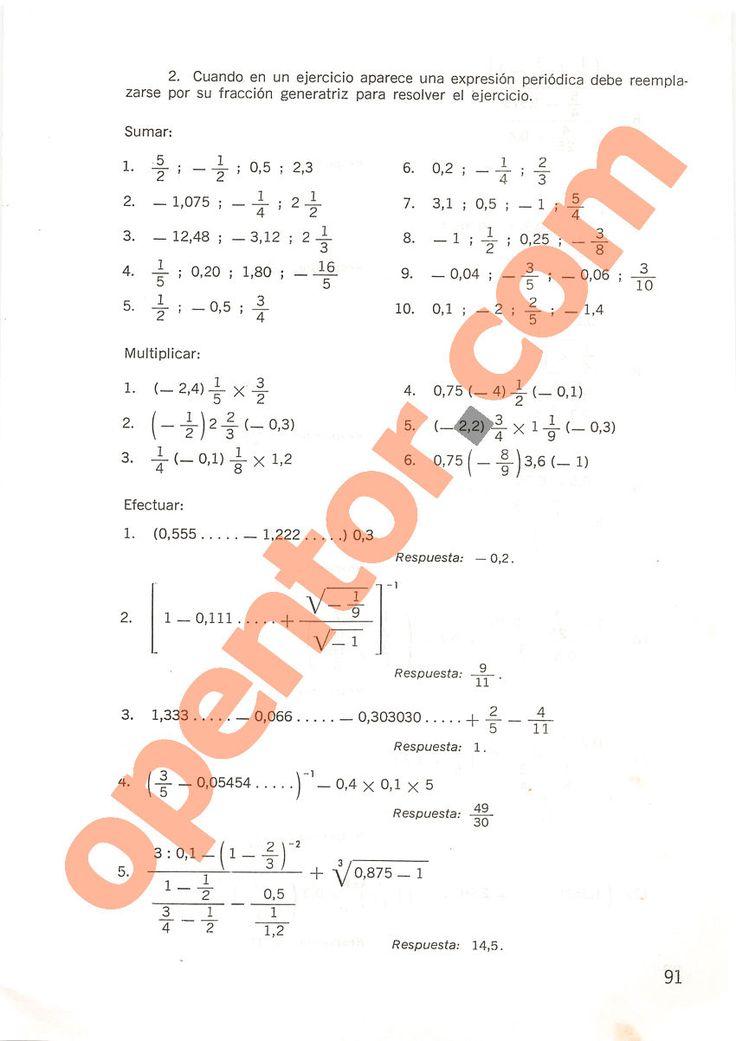 Aritmética de Repetto 2 - Página 91