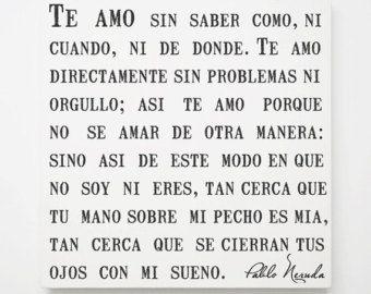 Pablo Neruda Quotes In Spanish