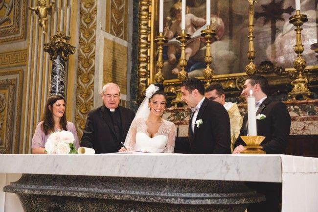 Mariage libanais au Vatican : Elvire & Zahi par Maison Pestea