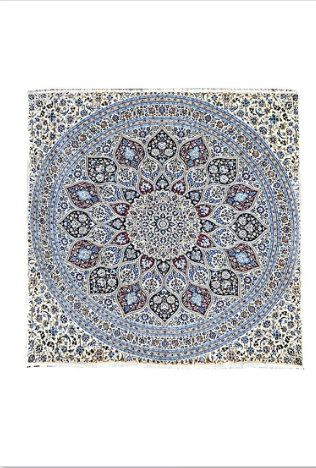 Shop For Lovely Persian Naien 3 Rug Online in Melbourne Free fitting services   Persian Traditional Collection - finest kork wool pile and silk inlaid to highlight the intricacy of the design which reflects the fine Persian Architecture of the Domes in the Historic Mosques.  #shoprugs #buyrugsonline #Melbournerugs