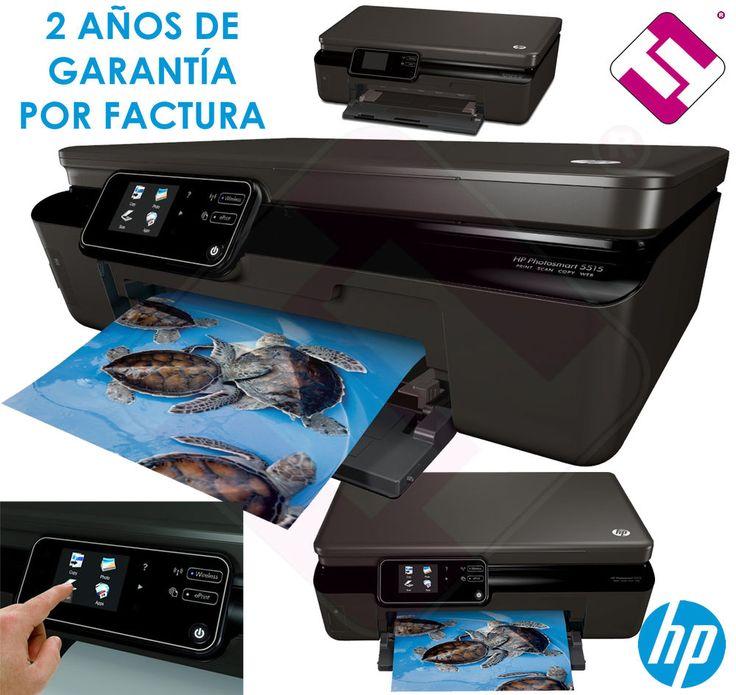 MULTIFUNCION HP PHOTOSMART 5515 ESCANER IMPRESORA WIFI  OFERTA TINTA MENOS DE 4€
