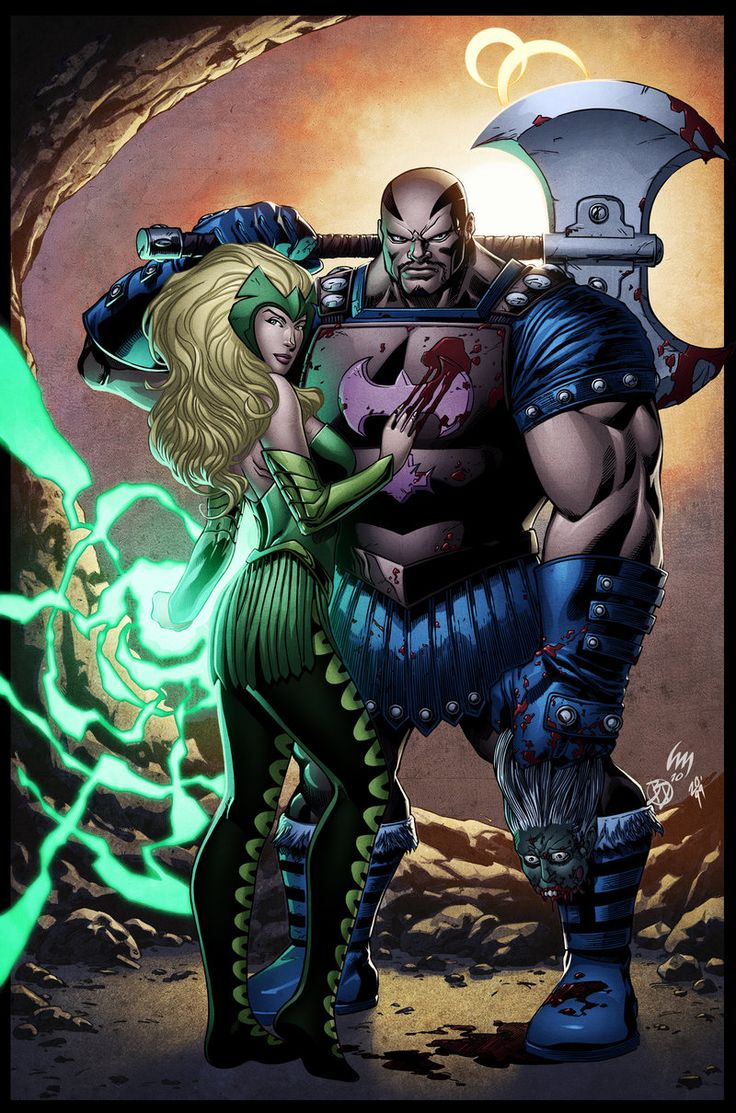 Enchantress Marvel | Enchantress and Executioner by *spidermanfan2099 on deviantART