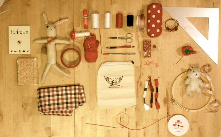 Working area  #BonitoFracaso #Crafts room