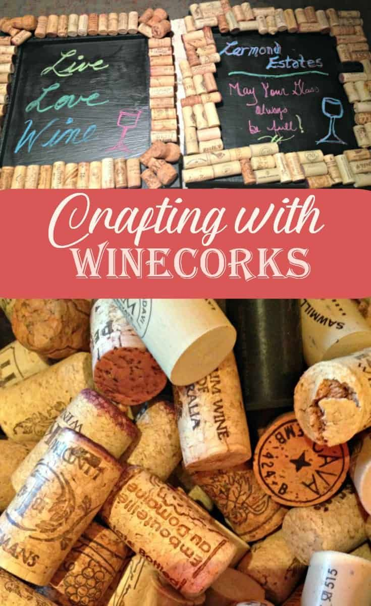 Chalk Boards And Wine Corks A Labour Of Life Cork Crafts Diy Wine Cork Crafts Wine Diy Crafts