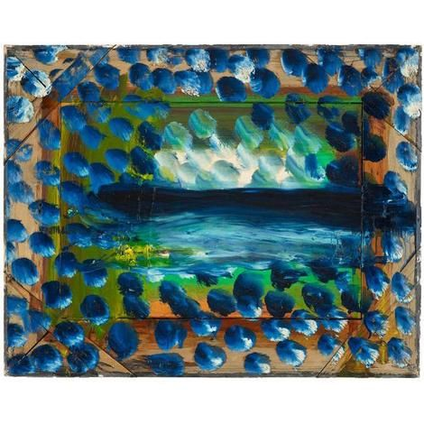 Howard Hodgkin, Dark Evening on ArtStack #howard-hodgkin #art