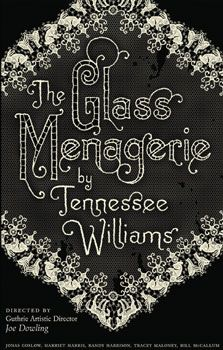 The Glass Menagerie by Tennessee Williams =Menagerie was Williams's first popular success and launched the brilliant, if somewhat controversial, career of our pre-eminent lyric playwright. Since its premiere in Chicago in 1944, with the legendary Laurette Taylor in the role of Amanda, the play has been the bravura piece for great actresses from Jessica Tandy to Joanne Woodward, and is studied and performed in classrooms and theatres around the world.