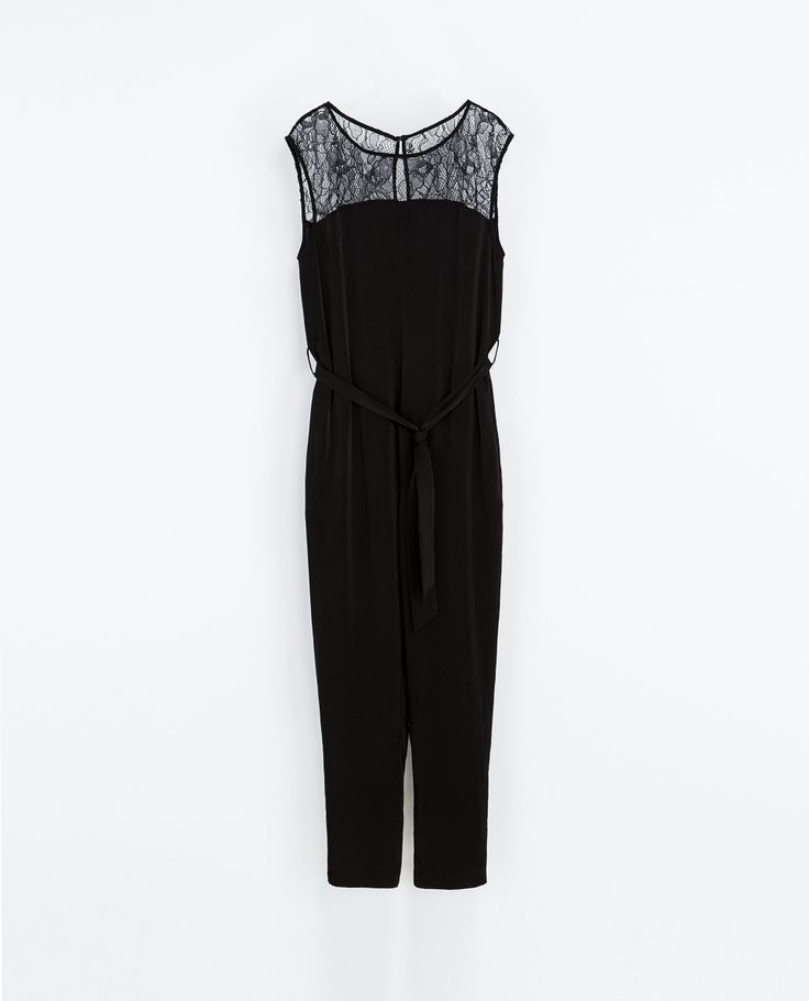 Goegeous ! ZARA - WOMAN - JUMPSUIT WITH LACE