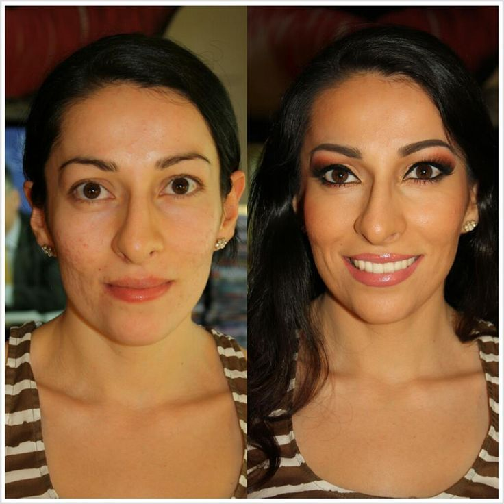 Airbrush Bridal Makeup Before And After : 17 Best images about DINAIR BEFORE and AFTER on Pinterest ...