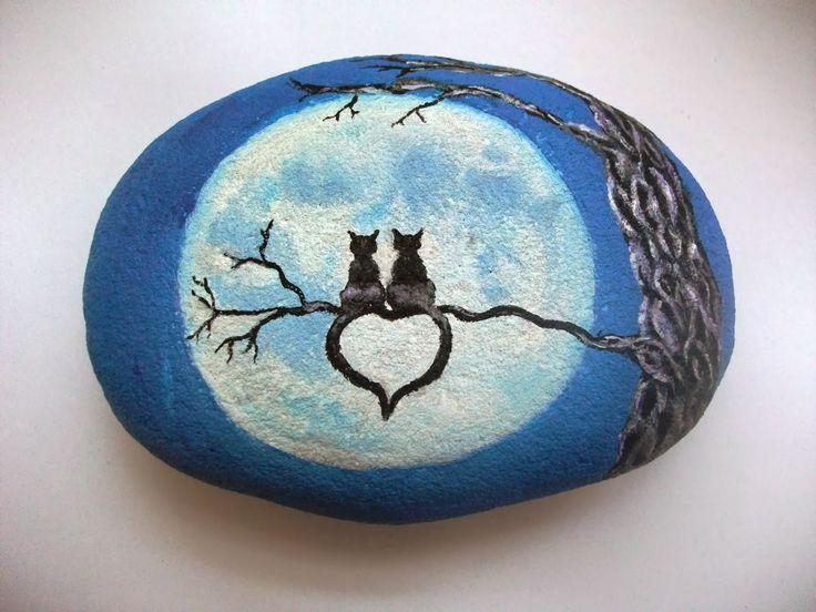 Adele Whittle Art: Miniature Paintings on Pebbles