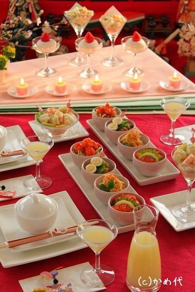 ひな祭り テーブルコーディネート - Google 検索